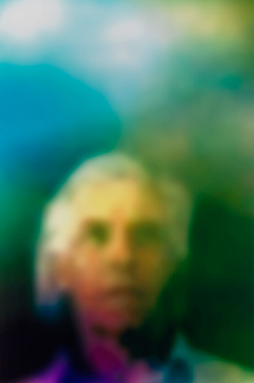 Susan Hiller. Homage to Marcel Duchamp, Aura (Grey Haired Man), 2011. Digital c-type print, 48 1/2 x 33 1/2 in. Courtesy of the artist and Timothy Taylor Gallery, London.