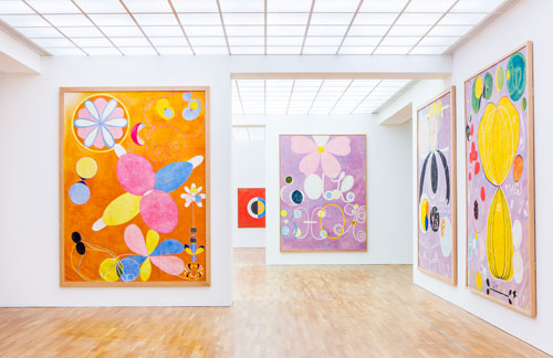 Installation view Hamburger Bahnhof, Berlin. Photograph: David von Becker