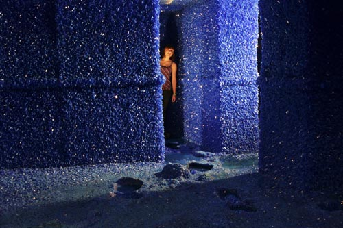 Roger Hiorns. Seizure. Artangel commission and production. Photograph: Nick Cobbing.