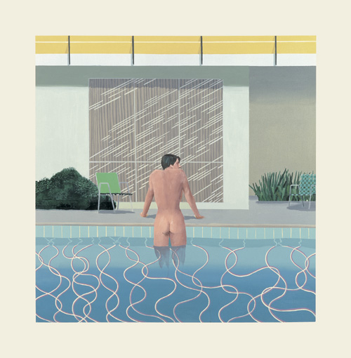 David Hockney. <em>Peter Getting Out of Nick's Pool</em>, 1966. Copyright: Walker Art Gallery, National Museums Liverpool © David Hockney.
