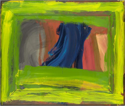 Howard Hodgkin. <em>Night and Day</em>, 1997-99. Oil on wood. National Gallery of Victoria, Australia © Howard Hodgkin. Photo Credit: Courtesy Gagosian Gallery, London, New York, Los Angeles.