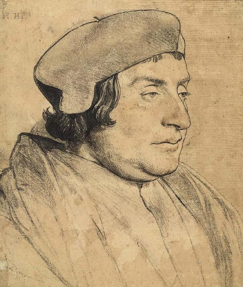 Hans Holbein. <em>Portrait of a Man</em>. The J. Paul Getty Museum, Los Angeles.