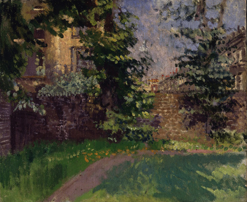 Walter Sickert. <em>Hampstead</em>, 1913-14. Aberdeen Art Gallery