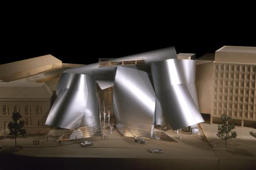 Corcoran Gallery of Art, Washington, DC, USA, Design phase: 1999–2003 (on hold). Gehry Partners, LLP. Final design model, 2005. © Gehry Partners, LLP