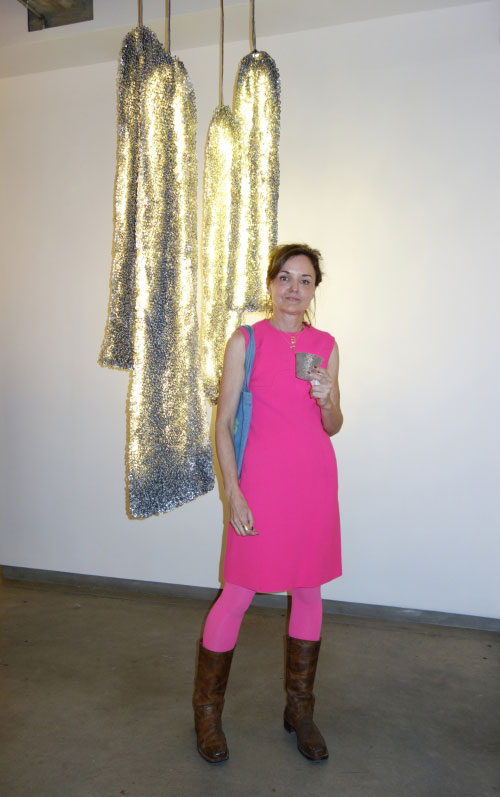 Alice Hope at Ricco/Maresca Gallery, New York City, April 2014. Photograph: Miguel Benavides.