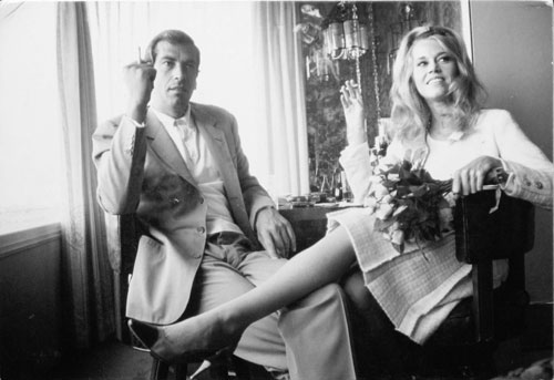 Dennis Hopper. Jane Fonda and Roger Vadim at Their Wedding in Las Vegas, 1965. Photograph, 17.02 x 24.87 cm. The Hopper Art Trust © Dennis Hopper, courtesy The Hopper Art Trust. www.dennishopper.com