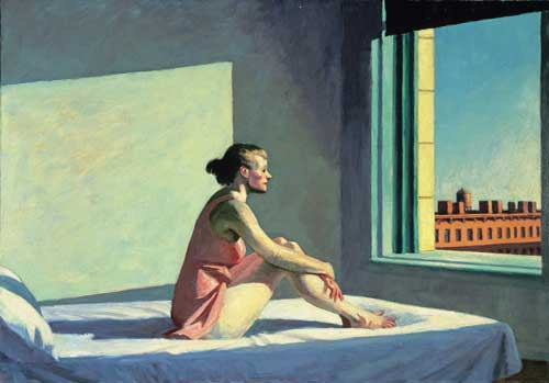 <i>Morning Sun</i> 1952. Oil on canvas 71.4 x 101.9 cm. Columbus Museum 