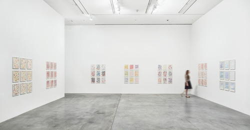 Roni Horn: Butterfly Doubt, installation view (3), Hauser & Wirth, London, 2015.