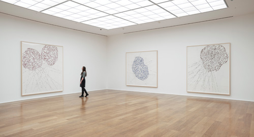 Roni Horn: Butterfly Doubt, installation view (2), Hauser & Wirth, London, 2015.