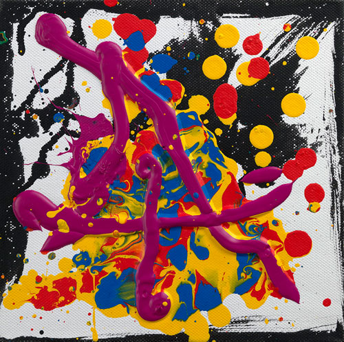John Hoyland. <em>Chance</em>, 2010. Courtesy of Beaux Arts.