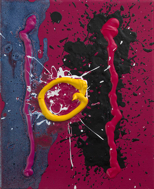John Hoyland. <em>Love and Blood</em>, 2010. Courtesy of Beaux Arts.