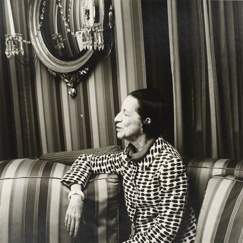 Peter Hujar. Diana Vreeland (II), 1975. © 1987 The Peter Hujar Archive LLC. Courtesy Maureen Paley, London; Pace/MacGill Gallery, New York.