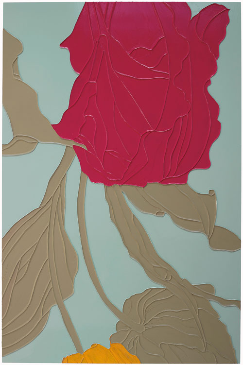 Gary Hume. Tulips, 2009. Private collection, courtesy Matthew Marks Gallery