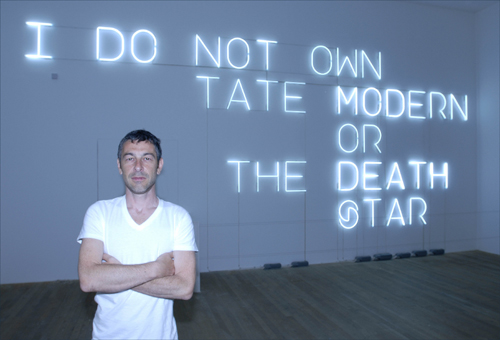 Pierre Huyghe, Tate Modern. Photocredit: Andrew Dunkley.