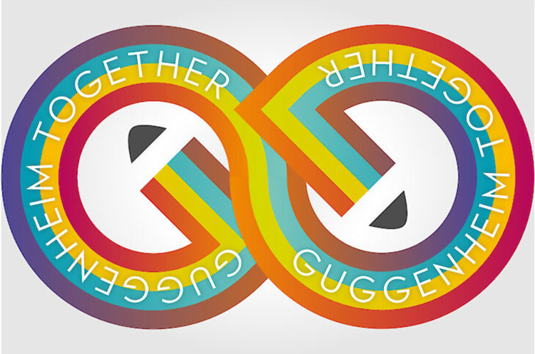 #GuggenheimTogether logo.