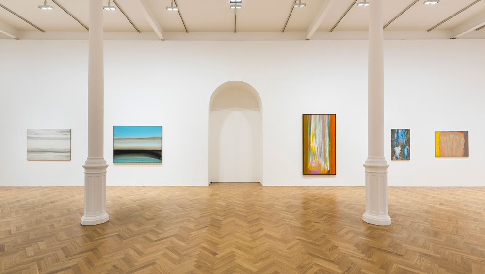 Art critic Clement Greenberg coined the term 'post-painterly abstraction' to describe the work of the five artists in this exhibition – Morris Louis, Ed Clark, Sam Gilliam, Frank Bowling and Kenneth Noland – yet, until recently, many of them haven't received the recognition they deserve