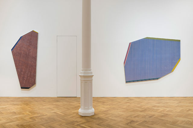 Kenneth Noland, installation view, Impulse, Pace Gallery, London, 2017.