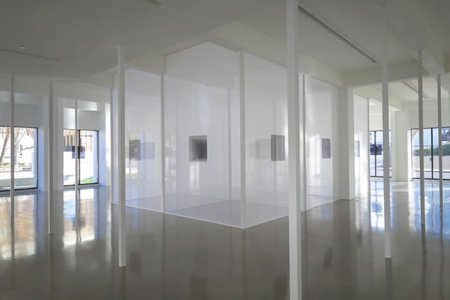 Robert Irwin. Installation view, Sprüth Magers, Los Angeles, January 23 - April 21, 2018. Courtesy the artist and Sprüth Magers. Photograph: Robert Wedemeyer.