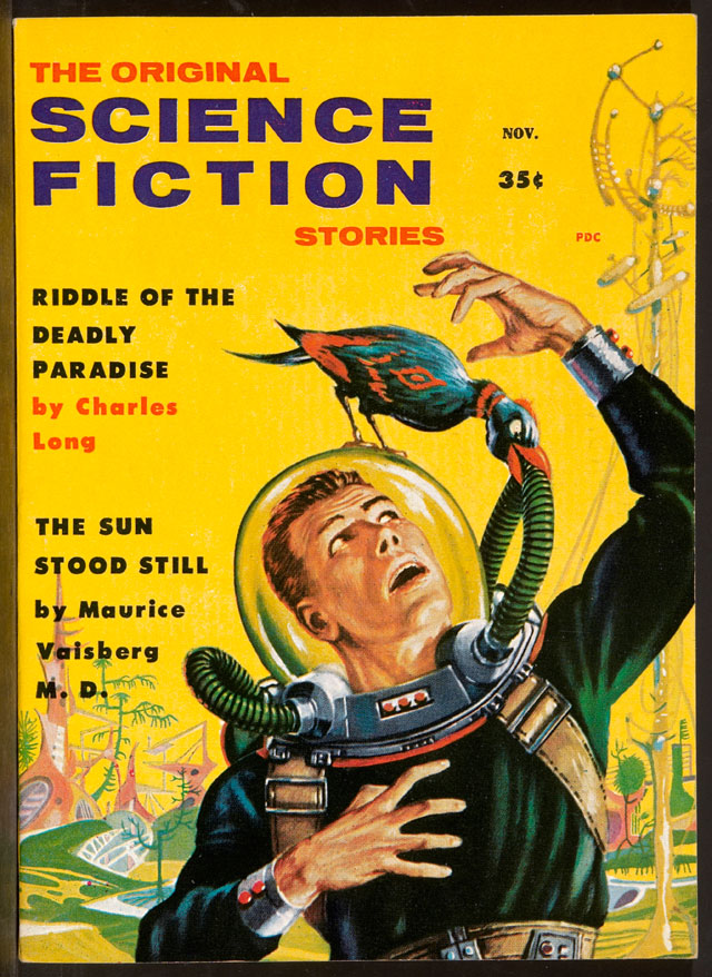 The Original Science Fiction Stories (November 1958) #1, Agence Martienne, Courtesy coll. Maison d'Ailleurs / Agence Martienne.
