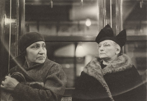 Walker Evans. <i>Subway Portraits</i>, 1938-1941. Gelatin silver print, 12.4 x 18 cm (4 7/8 x 7 1/16 in). National Gallery of Art, Washington, John Wilmerding Fund.