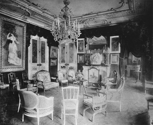 The grand salon at Rue de Rome with Dance in the City by Renoir. Photograph Archives Durand-Ruel. Archives Durand-Ruel © Durand-Ruel & Cie.
