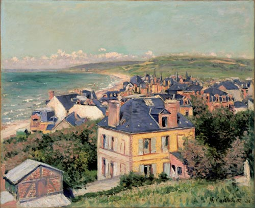 Gustave Caillebotte, <em>Villers-sur-Mer</em>, 1880. Oil on canvas, 60 x 73 cm. Private Collection, Photo Greg Staley, 2006.