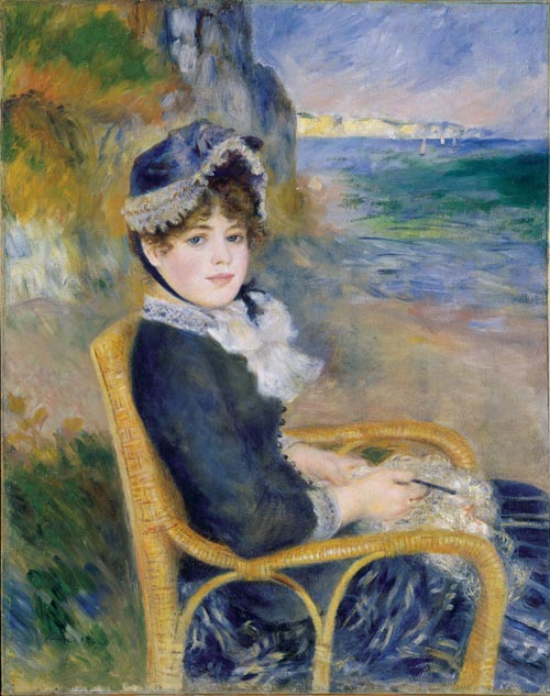 Pierre-Auguste Renoir, <em>By the Seashore</em>, 1883. Oil on canvas, 92.1 x 72.4cm. The Metropolitan Museum of Art, H. O. Havemeyer Collection, Bequest of Mrs. H. O. Havemeyer, 1929 (29.100.125). Photo © 1999 The Metropolitan Museum of Art.