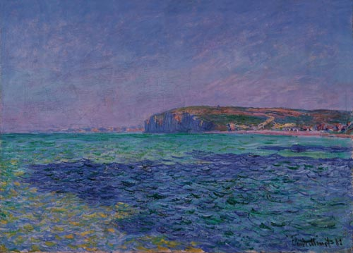 Claude Monet (1840-1926), <em>Shadows on the Sea. The Cliffs at Pourville</em>, 1882. Oil on canvas, 57 x 80cm. Ny Carlsberg Glyptotek, Copenhagen, MIN 1753 Photo: © Ny Carlsberg Glyptotek/Ole Haupt