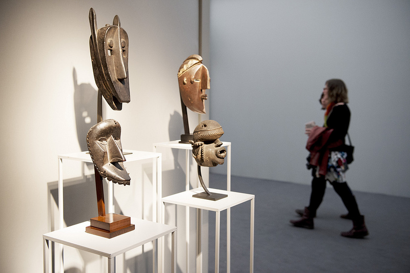 Entwistle, London, Paris. Frieze Masters 2012. Photograph: Linda Nylind. Courtesy of Linda Nylind/Frieze.