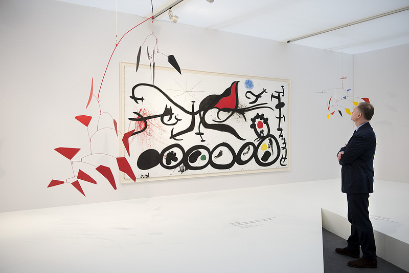 Helly Nahmad Gallery, London. Frieze Masters 2012. Photograph: Linda Nylind. Courtesy of Linda Nylind/Frieze.