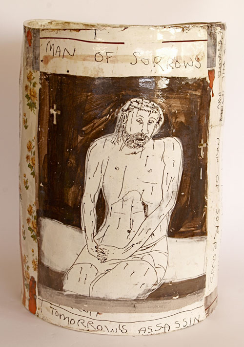 Philip Eglin. <em>Tomorrows assassin</em>, 2008. Ceramic. Private collection courtesy Marsden Woo Gallery, London.