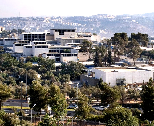 The Israel National Museum.