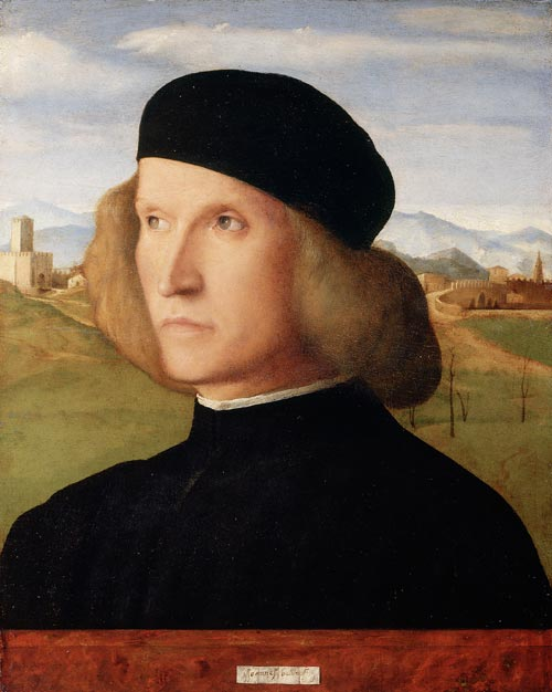 Bellini,<em> Portrait of a Young Man</em>, c.1505, the Royal Collection © 2007, Her Majesty Queen Elizabeth II