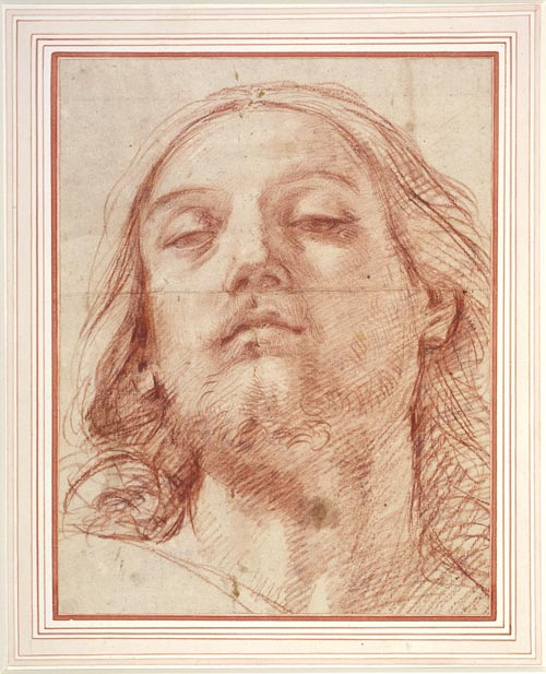 Reni,<em> The head of Christ</em>, 1620, the Royal Collection © 2007, Her Majesty Queen Elizabeth II
