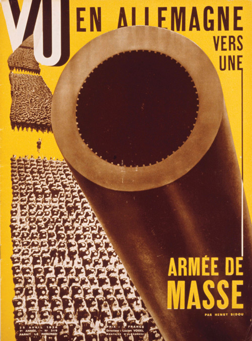 Cover of VU, April 1934.