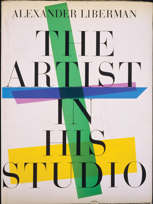 The Artist in His Studio by Alexander Liberman, revised edition published by Random House, 1988. First published in 1960 by Viking.