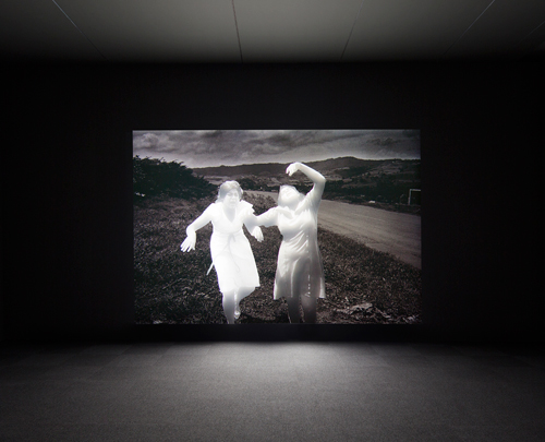 Alfredo Jaar. Lament of the Images, 2002. deFINE Art 2014 Exhibition. SCAD Museum of Art. Photograph: John McKinnon. Courtesy of SCAD.