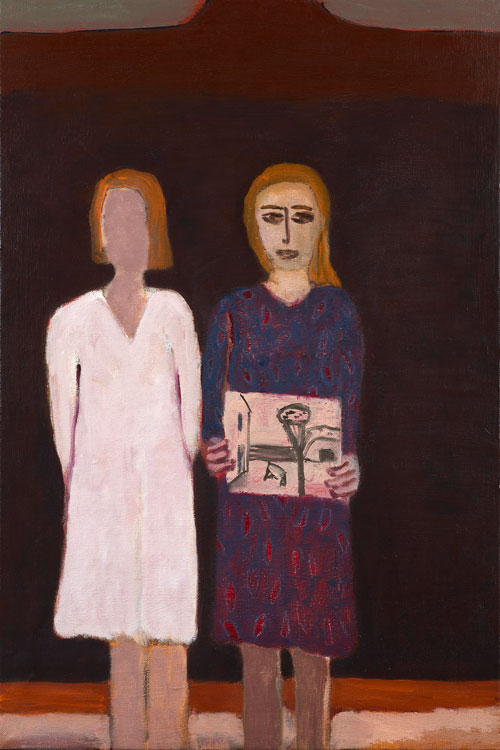 Andrzej Jackowski. <em>The Remembered Present, </em>2009. Oil on canvas,  82.5 X 55 cm. Courtesy Purdy Hicks Gallery.