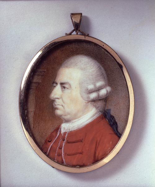 <em>Portrait Miniature of James Stuart,</em> c.1778. Attributed to Philip Jean. Watercolour and body colour on ivory. National Portrait Gallery, London