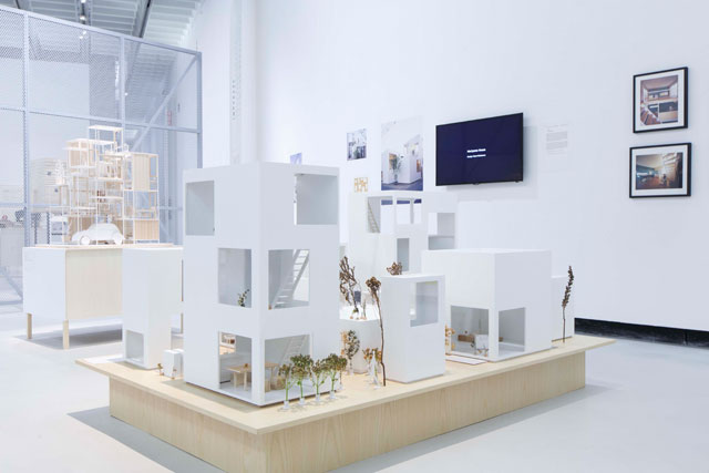 The Japanese House, installation view, MAXXI, Rome. © MAXXI.
