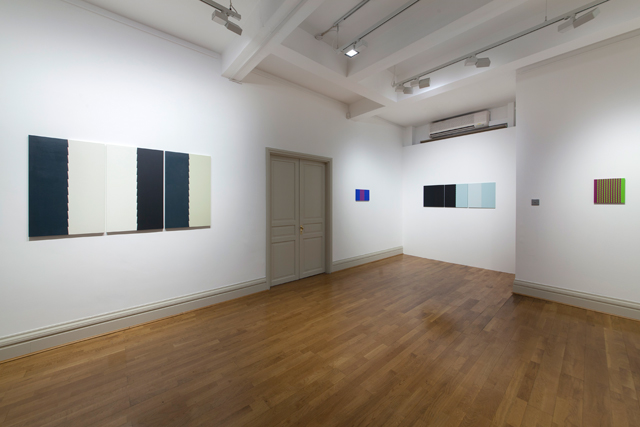 Tess Jaray: Dark & Light, gallery view, 67 Jermyn Street.