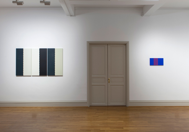 Tess Jaray: Dark & Light, gallery view (2), 67 Jermyn Street.