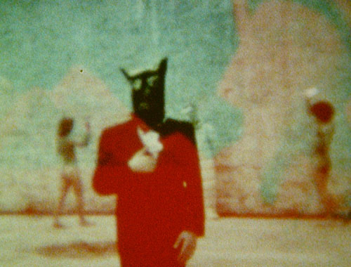 Derek Jarman. Burning the Pyramids (Art of Mirrors), 1970-73. © LUMA Foundation.