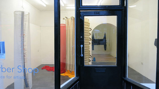 Clare Jarrett. Barber Shop residency, installation view, January 2016.