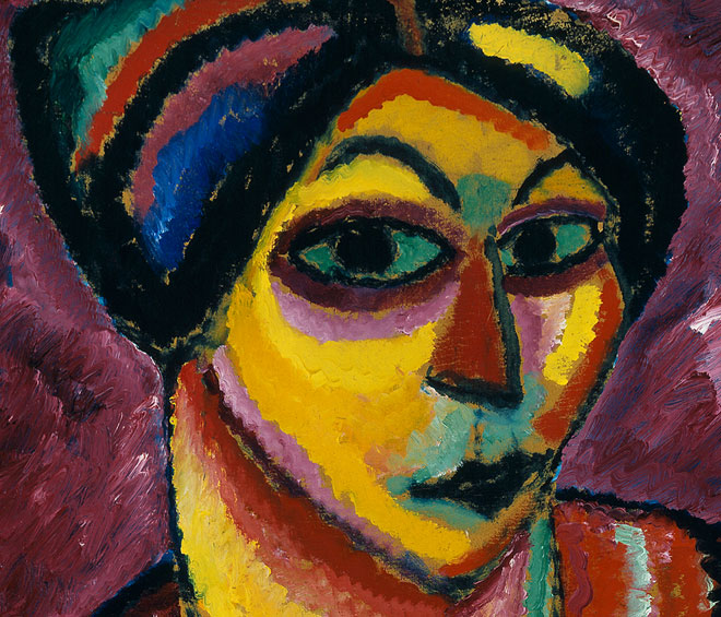 Jawlensky's art may be considered a life-long meditation on the process of change in his personal life