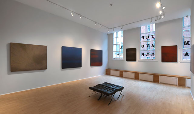 Jiang Dahai: Diffusion, gallery view, The Mayor Gallery, London. Photograph courtesy of The Mayor Gallery.
