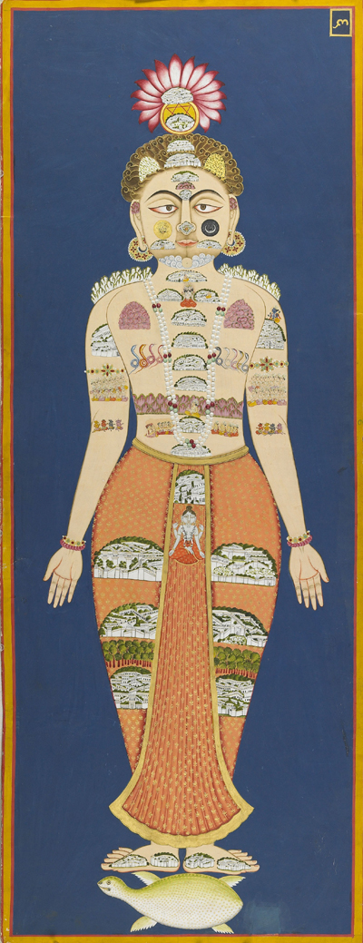 <em>The Equivalence of Self and Universe. </em>'The Muslim Artist' (Bulaki), 1824. Copyright © Mehrangarh Museum Trust.
