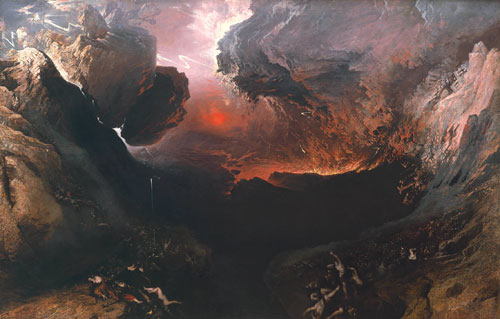 <p>John Martin. <em>The Great Day of His Wrath</em>, 1851-3. Oil on canvas, 240 x 347 cm.