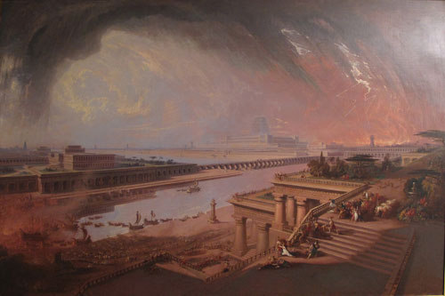 <p>John Martin. <em>The Fall of Babylon</em>, 1819. © Private Collection.