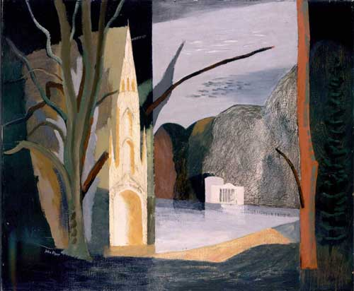 John Piper, <i>Autumn at Stourhead</i>, 1939-40, City 
